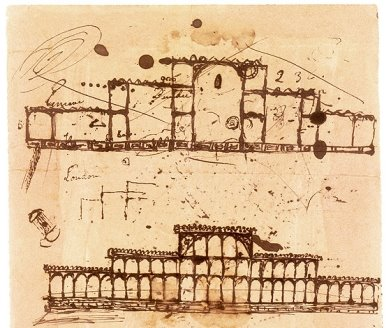 Image result for crystal palace concept drawing